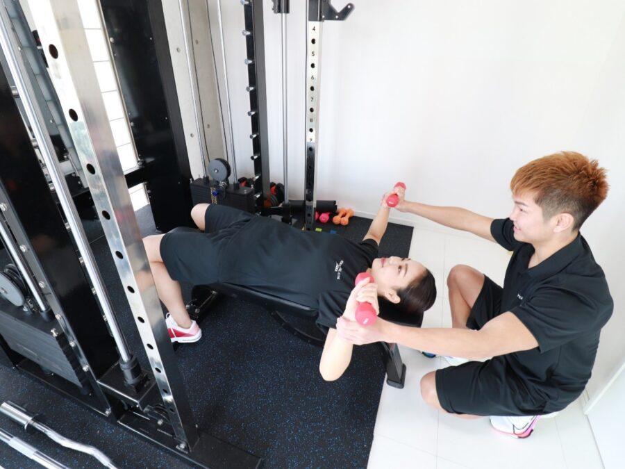[4]体験トレーニング開始